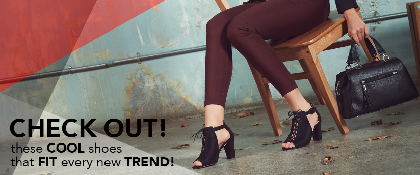 Check out these cool shoes that fit every new trend!